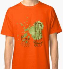 hand drawn vintage illustration of asparagus Classic T-Shirt