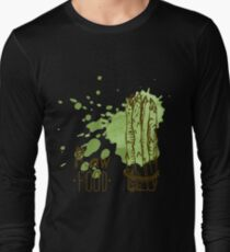 hand drawn vintage illustration of asparagus T-Shirt