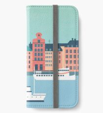 Stockholm iPhone Flip-Case/Hülle/Skin