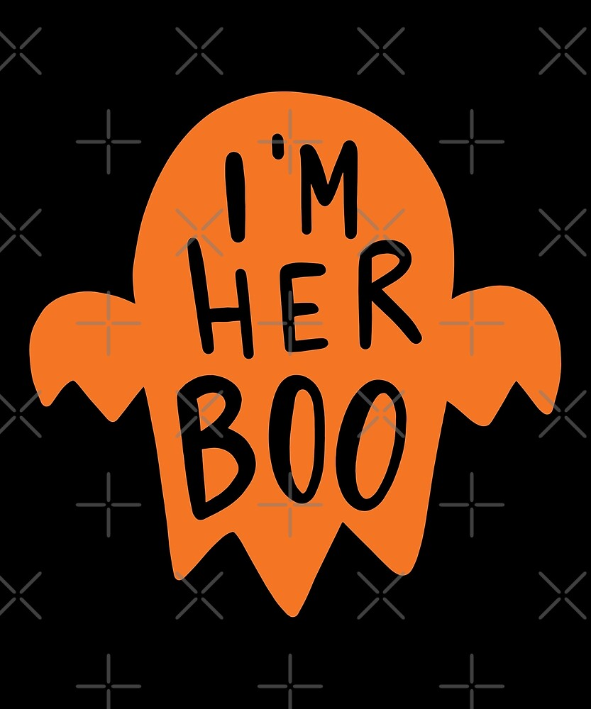 Halloween T-Shirts & Gifts: I'm Her Boo by wantneedlove