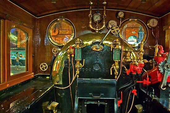 Inside The Cab  #1 (Steam Train) by Trevor Kersley