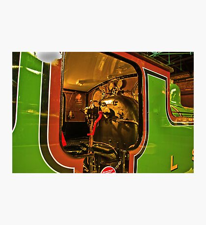 Inside The Cab #2 (Steam Train) Photographic Print