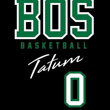 Boston Basketball Tatum by BonafideIcon