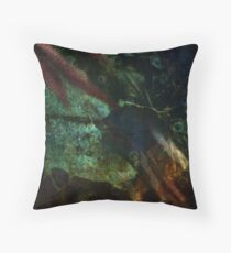 Watery Mystery Throw Pillow