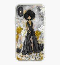 Der Queen Black and Gold iPhone Case