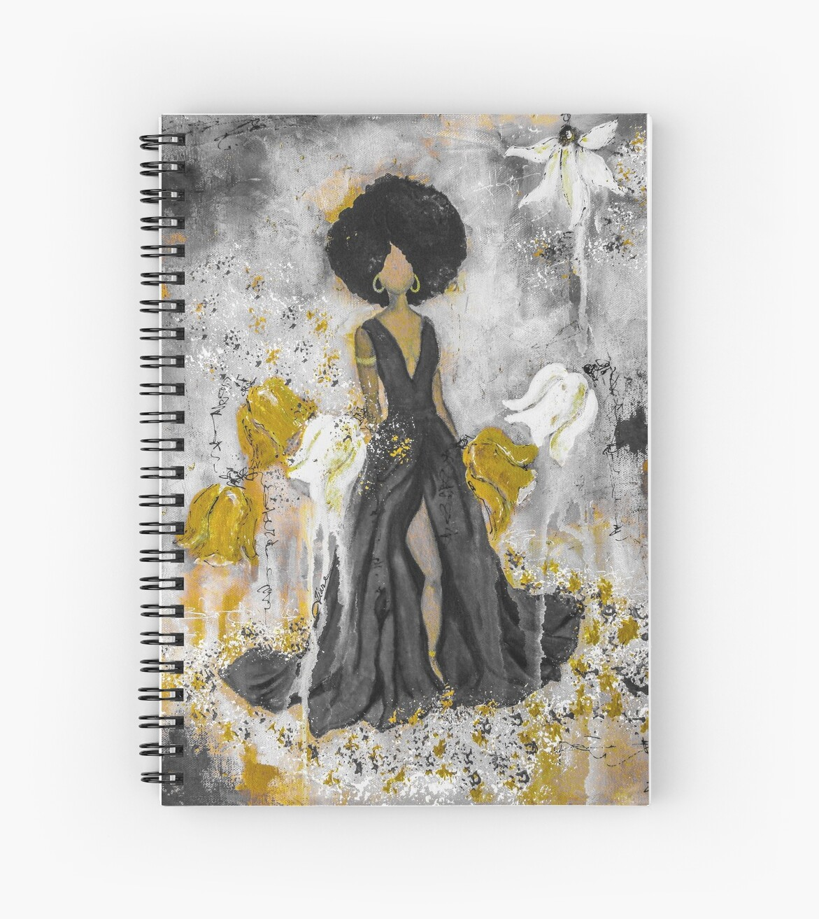 Der Queen Black and Gold by Tiare Smith