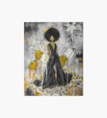 Der Queen Black and Gold Art Board