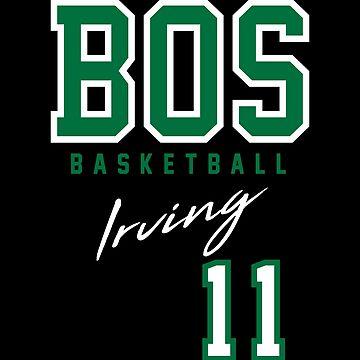 Boston Basketball Irving by BonafideIcon