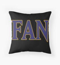 Baltimore LYFE Football SUPER FAN!!! Throw Pillow
