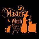 Halloween T-Shirts & Gifts: Master Witch by wantneedlove