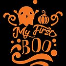 Halloween T-Shirts & Gifts: My First Boo by wantneedlove