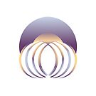 Abstract jellyfish logo by Colin Behrens