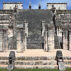 Steps of Chichén Itzá by zumi