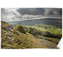 October In Upper Wharfedale Poster