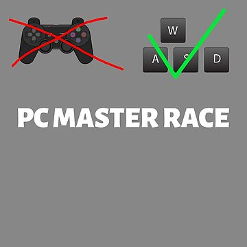 Pc master race funny geek novely design by Lunaco