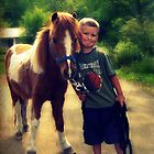 A Boy and his Pony by FrankieCat