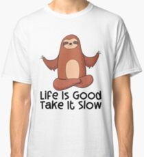 Life Is Good Take It Slow Classic T-Shirt
