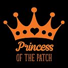 Halloween T-Shirts & Gifts: Princess of The Patch by wantneedlove