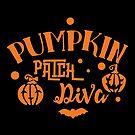 Halloween T-Shirts & Gifts: Pumpkin Patch Diva by wantneedlove