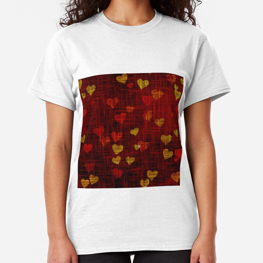 Create beautiful products ornate with hearts. Classic T-Shirt