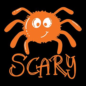 Halloween T-Shirts & Gifts: Scary Spider by wantneedlove
