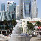 Singapore's Merlion by Dan Shiels