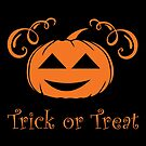 Halloween T-Shirts & Gifts: Trick Or Treat by wantneedlove