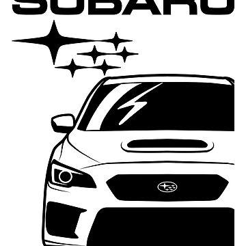 SUBARU WRX STI by CUTOCARS