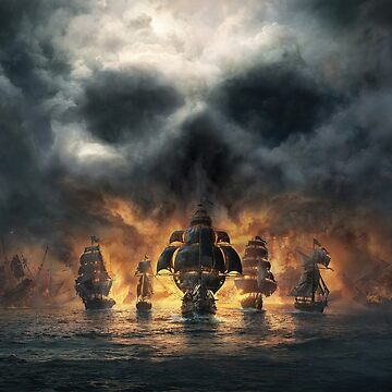Fantasy Pirates Ships by bza84