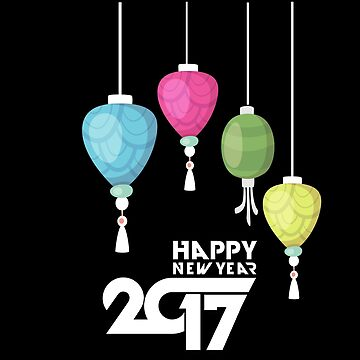 Happy New Year 2017 by overstyle