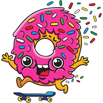 Skater Donut by plushism