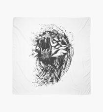 Tiger Watercolor Scarf