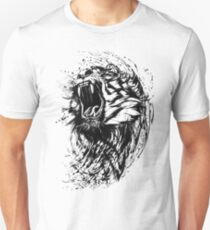 Tiger Watercolor Unisex T-Shirt