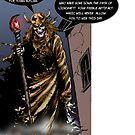 THE LICH confronts Aristar! by Ian Fults