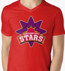 Cerulean city stars - sports team logo Men's V-Neck T-Shirt