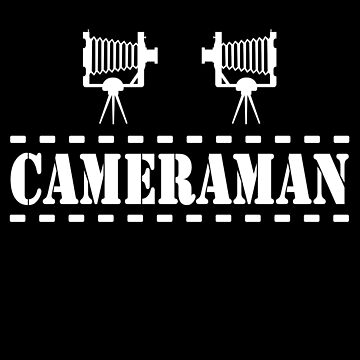 Cameraman White Color by barminam