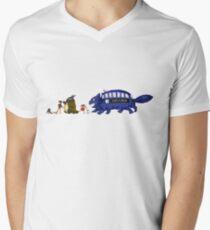 Doctor Totoro Men's V-Neck T-Shirt