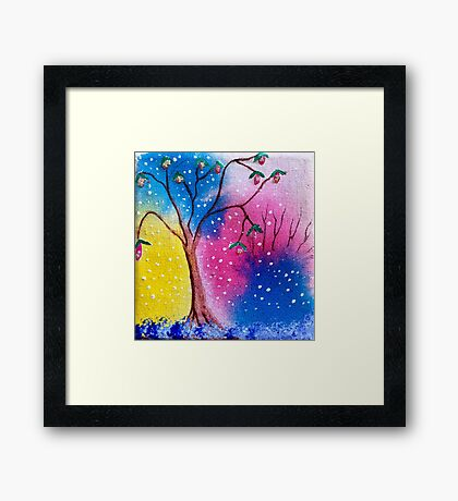 Magic Tree Framed Print