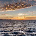 Sunrise at Costa Maya  by John  Kapusta