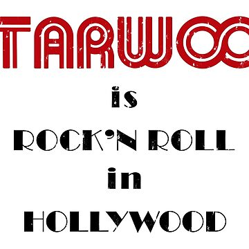 Starwood is Rock'N Roll in Hollywood (Slightly Distressed) by PissAndVinegar