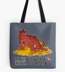 Cute under the mountain Tote Bag
