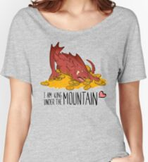 Cute under the mountain Women's Relaxed Fit T-Shirt