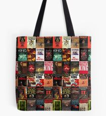 Stephen King - Book Covers Tote Bag