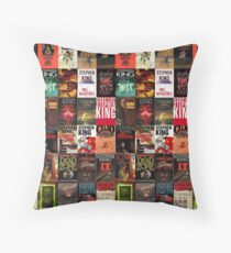 Stephen King - Book Covers Throw Pillow