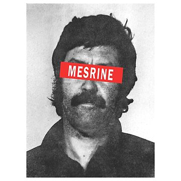 Jacques Mesrine T-Shirt - Public Enemy Number One by drakouv