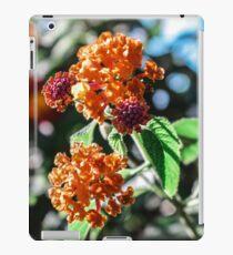 Orange blume iPad Case/Skin