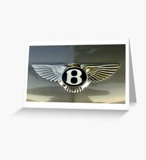 B Is For Bentley Greeting Card