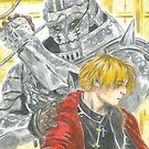 The Brothers Elric by outofthedust