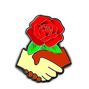 Democratic Socialism symbol by deborahsmith