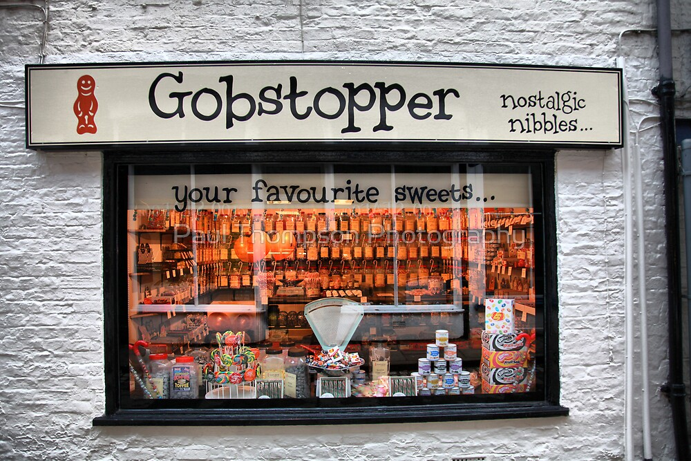 Gobstopper Sweet Shop by Paul Thompson Photography